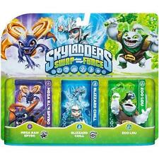 Skylanders Swap Force MEGA RAM SPYRO BLIZZARD CHILL ZOO LOU NISB!