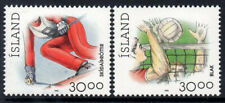 Iceland 1992, Sport, Skiing & Volleyball, MNH / UNM