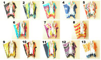 Tie Dye Cardigan Duster Kaftan Batwing Plus Hippy Open Jacket Cover up -up to 5X