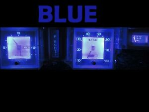 Gauge Cluster LED Dashboard Bulbs Blue Kit For Lincoln 77 79 Mark V 5