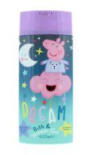 Peppa Pig Bath & Shower Gel 400ml Kids Childrens Body Wash No Parabens Soap
