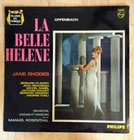 """33 tours OFFENBACH Vinyle LP 12"""" LA BELLE HELENE - Jane RHODES - PHILIPS 03493L"""