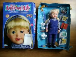 AMAZING ALLY INTERACTIVE DOLL - BOXED 99% COMPLETE - VINTAGE AND ORIGINAL