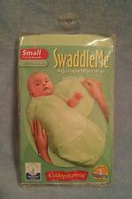 NEW SwaddleMe Cotton Small 7-14 lbs Kiddopotamus Infant Baby Wrap Blanket Green