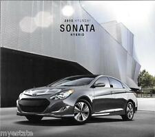 2015 15  Hyundai  Sonata Hybrid  original  brochure MINT