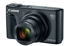 Canon PowerShot SX740 HS 20.3MP Digital Camera - Schwarz