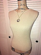 🛍INC International Concepts Sz Small Gold Sleeveless Sweater Knit Top Cute Sexy