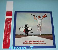 ROLLING STONES Get Yer Ya-Ya's Out ! Japan mini LP CD SHM + Promo OBI