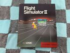 Vintage Flight Simulator Ii 2 Amiga Computer Video Game Rare 1986 Sublogic