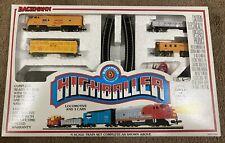 New Bachmann Highballer N Scale Electric Train Set 24302 Santa Union Pacific