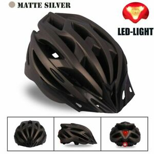 Biking Safety LED Helmet Ultralight MTB Mountain Bicycle Adults Outdoor Sports