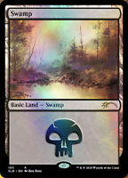 Swamp (105) - Foil - Happy Little Gathering x1 Magic the Gathering 1x Promos mtg
