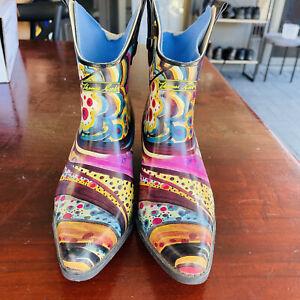 Thomas Cook Ladies Rubber Gum Boot - Size 7