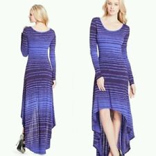 NEW Guess Andrea purple Long-Sleeve top Dress size L