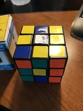 Vintage Rubiks Cube Puzzle w/Box The Big Challenge