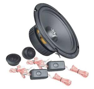 Ground Zero GZIC 16X 16,5 cm Komponenten-Lautsprecher 150 Watt RMS: 100 Watt