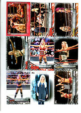 Charlotte Wrestling Lot of 9 Different Trading Cards 1 Insert WWE NXT C-O1