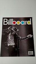 MICHAEL JACKSON BILLBOARD MAGAZINE COVER '09 RARE ORIGINAL PRINT PROMO POSTER AD