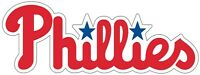 "Philadelphia Phillies MLB Vinyl Decal - You Choose Size 2""-62"""