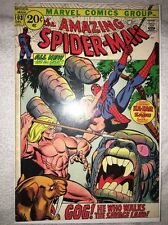 The Amazing Spider-Man #103 (Dec 1971) Early Kazar and Zabu VF- to VF (7.5-8.0)