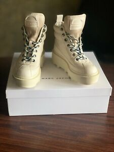 MARC JACOBS WOMEN'S SHAY WEDGE HIKING PLATFORM BOOTS SOLD OUT ONLINE 39 US9 UK6