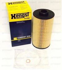 BMW 4.4L ENGINE E38, E39, X5, OEM HENGST OIL FILTER 11427510717, E202H01D34