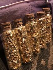Best Anywhere Huge Beautiful Flakes 1 Kilogram 1000 Grams Gold Leaf Flake