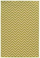 """2'x4' Sphinx Geometric Ivory Stripes Chevron 4593K Door Mat - Aprx 2' 5"""" x 4' 5"""""""
