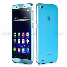 "5"" Unlocked XGODY X15S Blue 3G Android Mobile Phone Quad core 8GB 5MP New Sealed"
