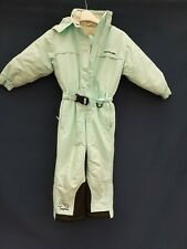 TRESPASS ALL IN ONE  HOODED  Age3/4 years SKI SUIT GIRLS  WINTER SNOW SUIT