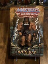 MOTU Classics Wun-Dar MIB Heroic Warrior Masters Of The Universe - He-Man
