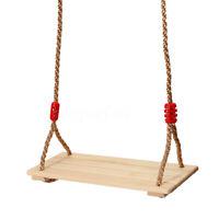 Holz Schaukelsitz Schaukelbrett  Kinderschaukel Erwachsene mit Höhe Einstellbar
