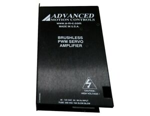 Advanced Motion Controls Brushless PWM Servo Motor 30-125VAC BE25A20ACQT1