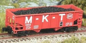 Z Scale M-K-T 33' Rib 2-Bay Hoppers 2-pk.#1 FT NIB