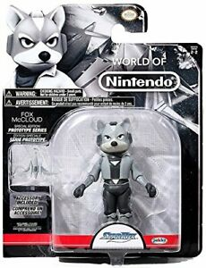 "World of Nintendo Fox McCLoud 4"" Action Figure - Star Fox prototype series"