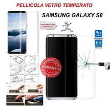 Pellicola Vetro Temperato curvo 3d per Samsung Galaxy S8 Proteggischermo