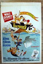 belgian poster WALT DISNEY, THE BOATNIKS, ROBERT MORSE, STEFANIE POWERS