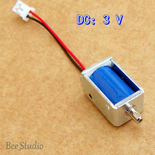 DC 3V Mini Solenoid Valve Flow Micro Air Exhaust Valve Blood Pressure Monitor