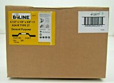 B-Line Abrasives 41287T Grinding Wheel, 4 1/2