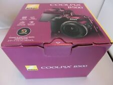 New Nikon  COOLPIX B500 Digital Camera  Plum