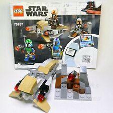 New Star Wars LEGO® Mandalorian Speeder Bike & Gun Cover 75267 NO MINIFIGS