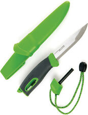 Light My Fire Fixed Blade Knife New Swedish Fireknife Green S-FK GREEN