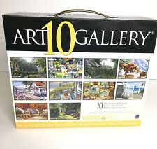 Art Gallery 10 Puzzles In Box Deluxe Jigsaw 5600 Pieces. New Unopened Box.