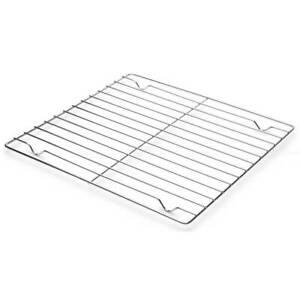 Fox Run Cooling Rack 10 x 10 Inch Chrome Durable Lightweight Compact Baking New