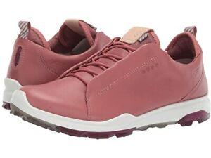 ECCO Ladies Biom Hybrid 3 OL GTX Spikeless Golf Shoes, EU 37 US 6/6.5,PETAL PINK