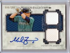2014 Topps Museum Collection Mike Zunino Autograph 2x Jersey # /199 Mariners
