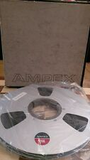 """Boxed AMPEX 766 10.5"""" 27 cm 0.5"""" Wide Reel to Reel Magnetic Data Tape"""