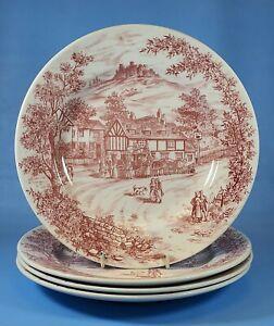 Churchill Swan Inn Plates 9.5 Inch