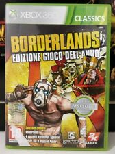 BORDERLANDS GAME OF THE YEAR, MICROSOFT XBOX 360 VERSIONE ITALIANA GOTY COMPLETO