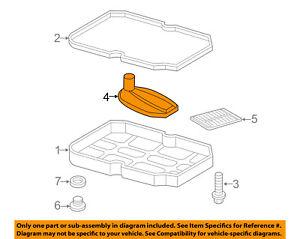 Mercedes MERCEDES-BENZ OEM S600 Automatic Transmission-Trans Filter 1402770095